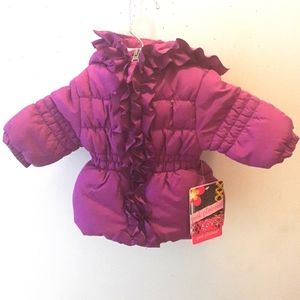 NWT Baby Girls Winters Jacket Size 3/6 Months